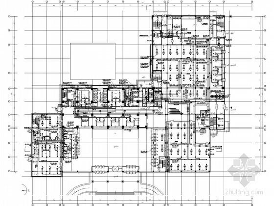 [山西]五星酒店暖通空调设计全套施工图纸(冷热源机房)