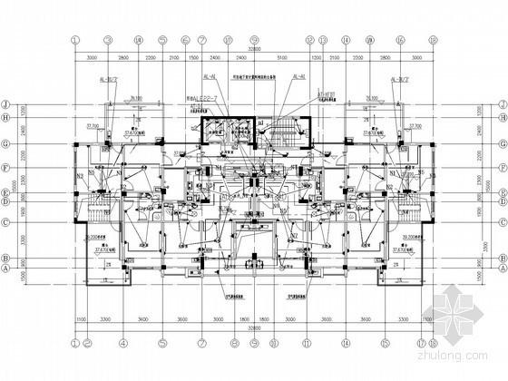 [浙江]城中村改造工程高层建筑电气施工图(2015年7月设计)