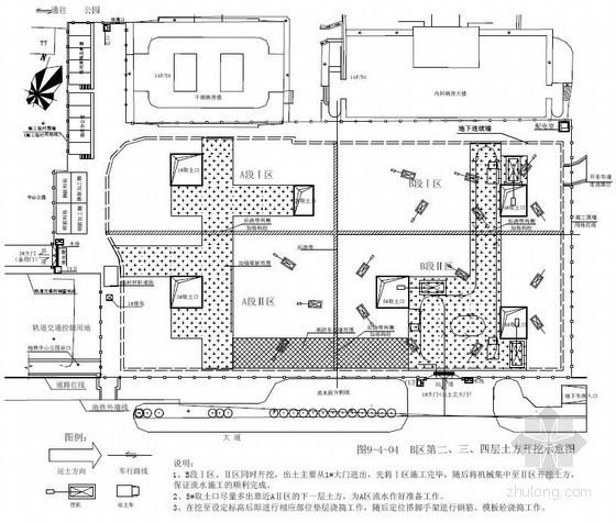 [湖北]医院门诊楼地下三层逆作法施工组织设计