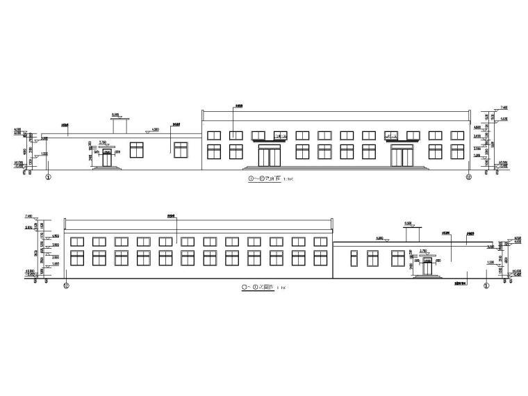山西太阳能公司职工餐厅钢结构施工图