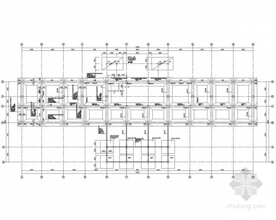 县级门诊楼框架结构施工图