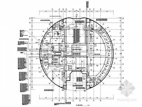 实验室中心电气施工图