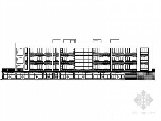 某住宅区四班小型幼儿园建筑施工图