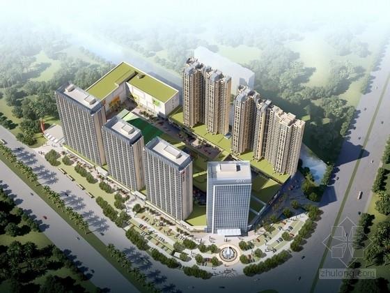 [福建]30万平城市综合体结构施工图(商业 住宅 办公 SOHO)