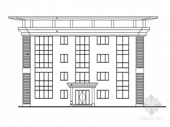 [山东]某艺术学院中心区二层居住式公寓建筑施工图(含节能设计)