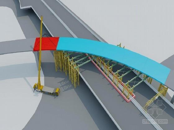 [湖北]名企编制城市高架桥大吨位钢箱梁吊装方案123页(顶推法 含交通疏导)
