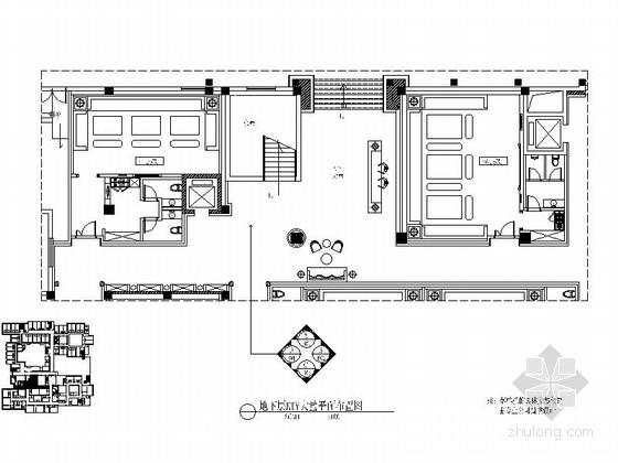 [山西]高档酒店KTV公共部分装修施工图