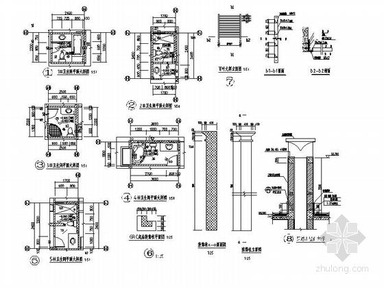 [贵州]高层框剪结构面砖外墙商用住宅建筑施工图(含多套方案)-高层框剪结构面砖外墙商用住宅建筑详图