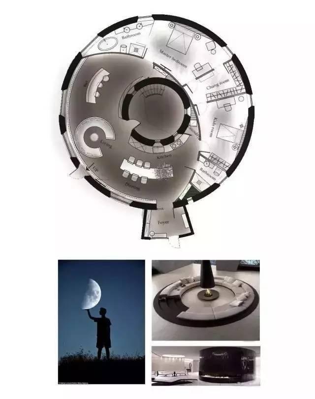 深度解析!一个圆形户型的15个高超方案!_13