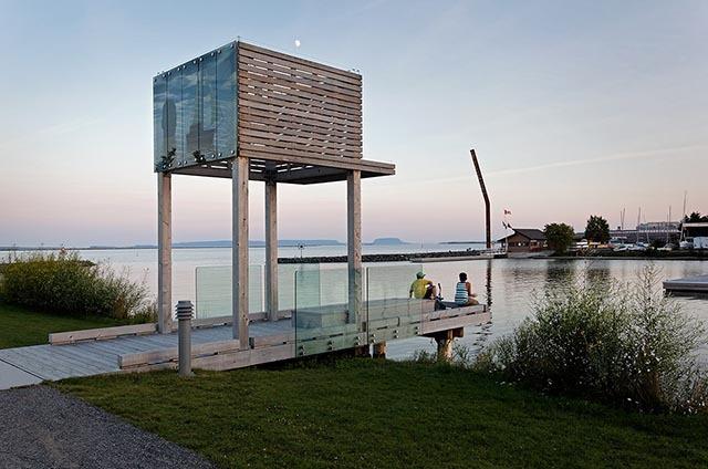 加拿大亚瑟王子码头公园景观设计_2