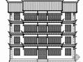 [禄丰县]某仿古派出所综合办公楼建筑办公楼建筑施工图