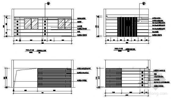 某国税局服务楼包房施工图-3