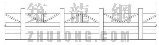 木栏杆施工详图