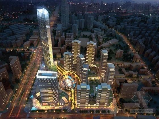 [武汉]绿色节能综合商业居住区概念规划设计文本