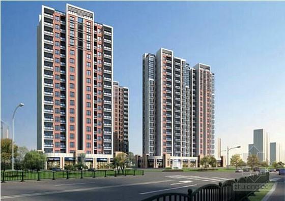 [南京]保障房项目建筑安装工程招标控制价实例(4个标段 含图纸)