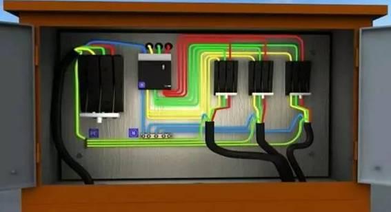 详述总配电箱到分配电箱的接法_7