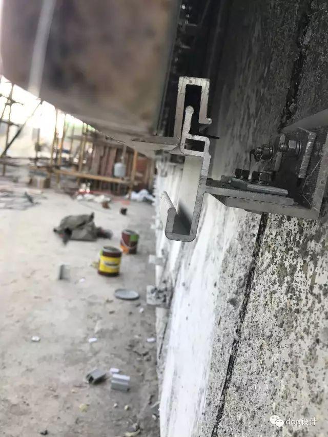 解析|外墙干挂石材幕墙标准化施工流程!_10
