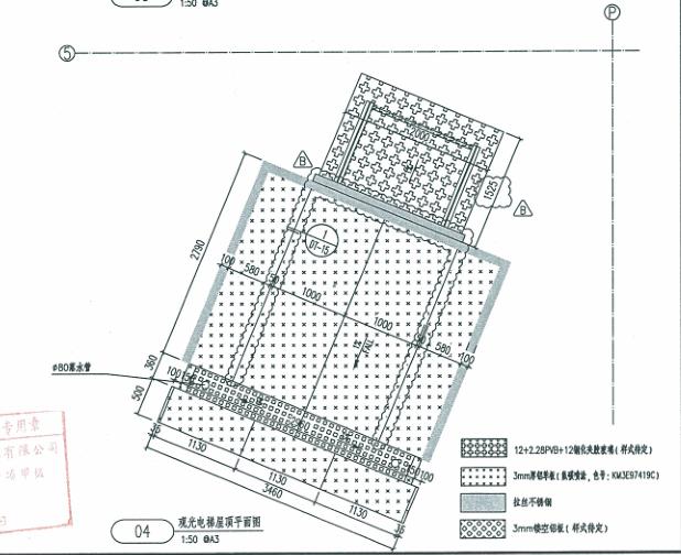 观光电梯玻璃幕墙、钢结构施工图及幕墙结构计算书_2