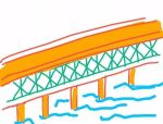 矮塔斜拉桥漫画+图片施工简介