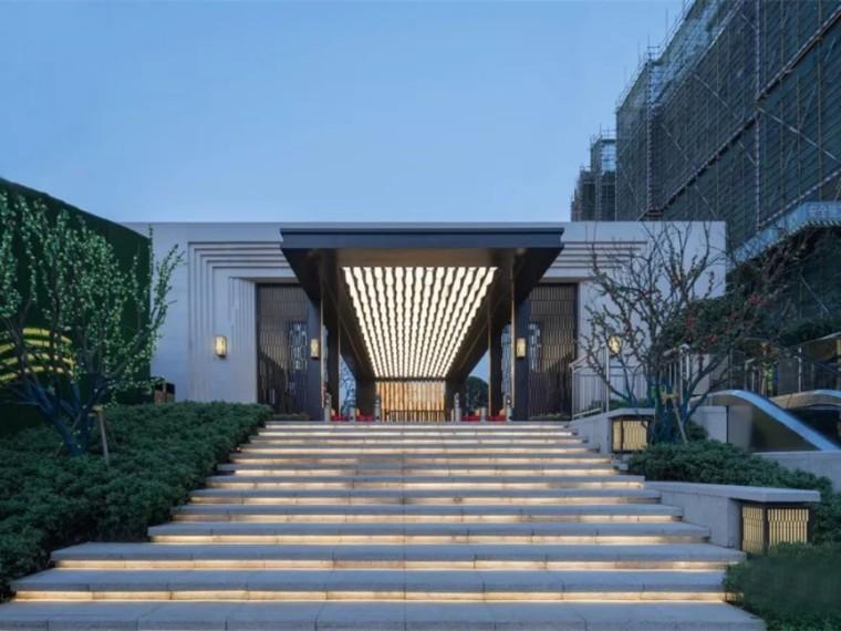 长沙华远碧桂园海蓝城示范区景观
