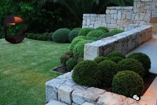 各式各样的庭院景观墙,美_10