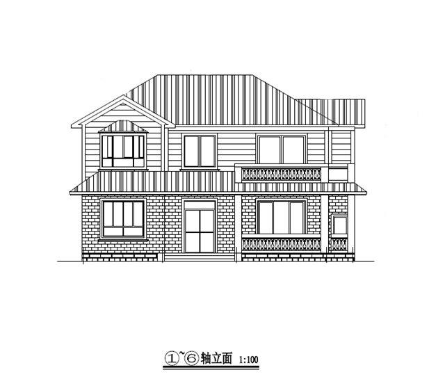 三层别墅建筑结构全套图纸(含结构图纸)