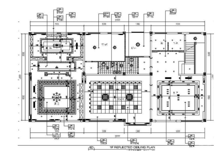 3套完整办公空间设计施工图(含效果图+3D模型)