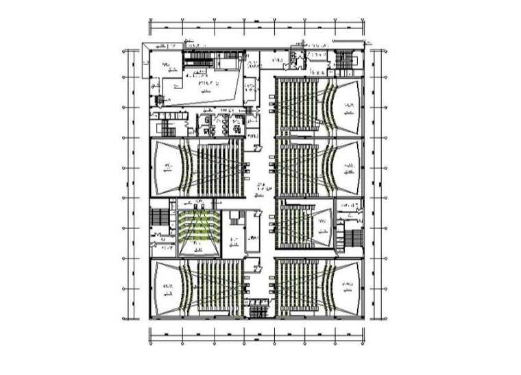[哈尔滨]某电影城室内设计施工图