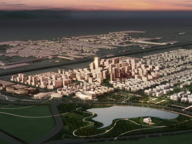 [河北]石家庄滹沱新区总体规划(滨河新区,社区模式,生态)