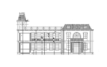 两层新中式风格渡假村茶室全套施工图