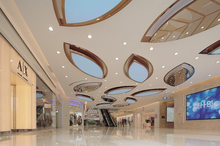 万达广场购物中心室内设计施工图(附效果图)-1 (7)