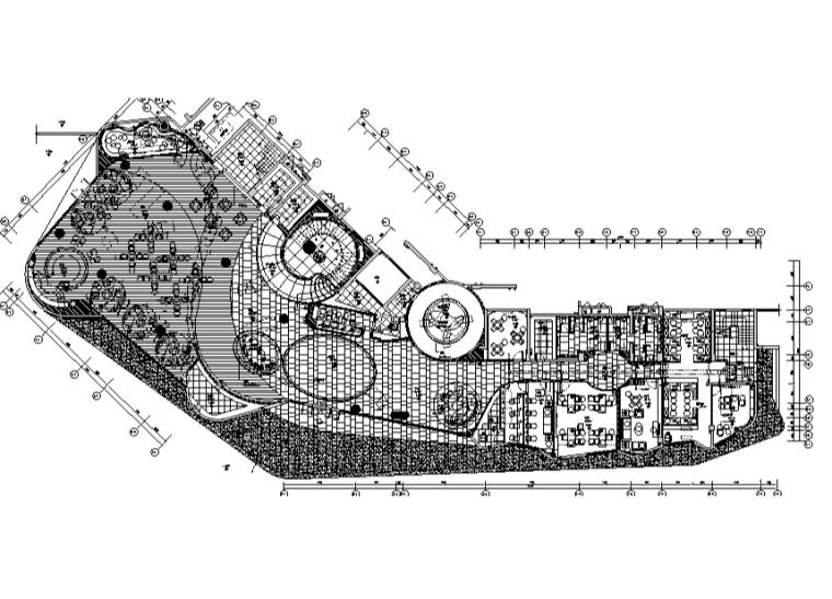 [广东]珠海华发峰景湾销售中心设计施工图(附效果图)