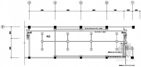变电所气体灭火系统施工图纸
