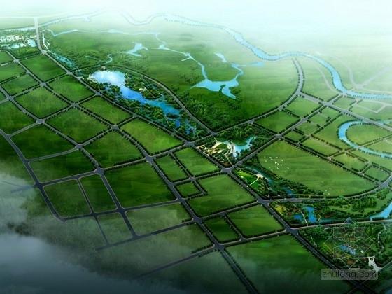 [长沙]湘江风光城市湿地公园景观规划概念设计方案