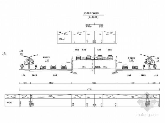 城市主干道工程道路设计套图(27张)