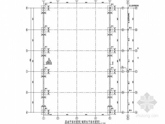钢结构菜市场农贸大棚结构施工图