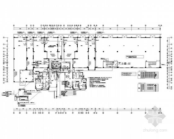 [四川]高层商住楼强弱电施工图40张