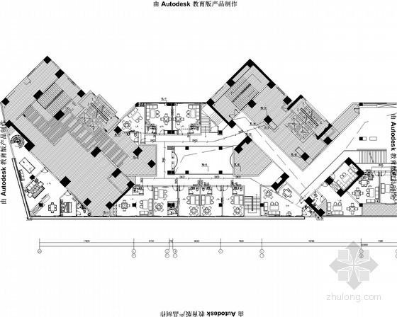 [安徽]小区茶楼及小型商业楼给排水施工图