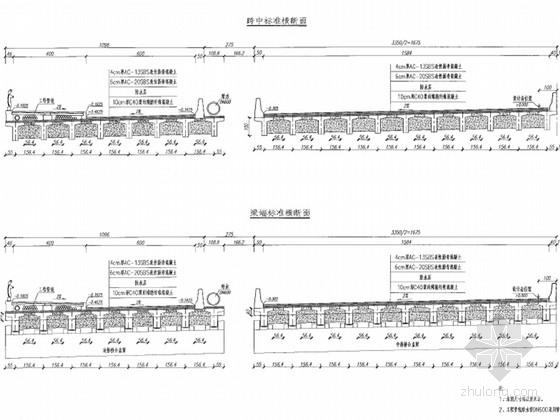 [安徽]T梁桥边桥施工图设计36张