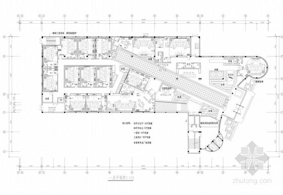 [宁波]知名设计院娱乐会所KTV设计施工图