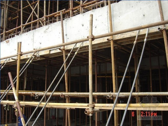 建筑工程模板支架系统安全质量管理培训讲义(附图)