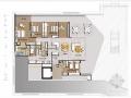 [新加坡]现代风格别墅局部室内设计概念方案