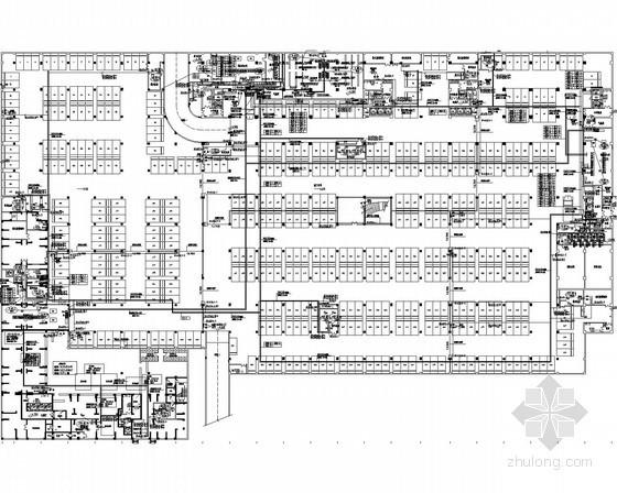 [广东]500强企业工业厂区全套强弱电电施图154张(变电所 厂房 宿舍)