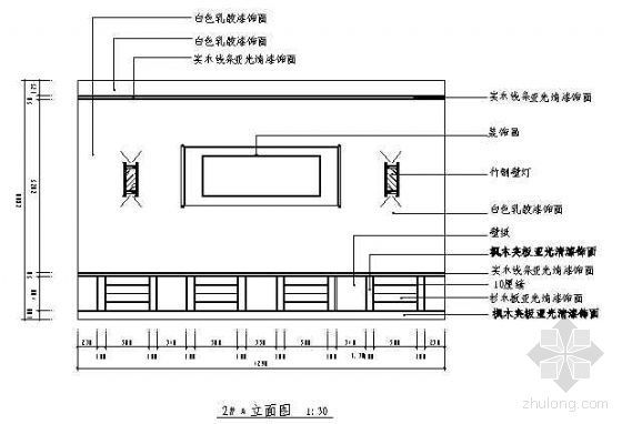 餐厅包房装修施工图
