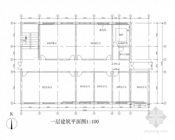 [西安]某办公楼供热工程课程设计