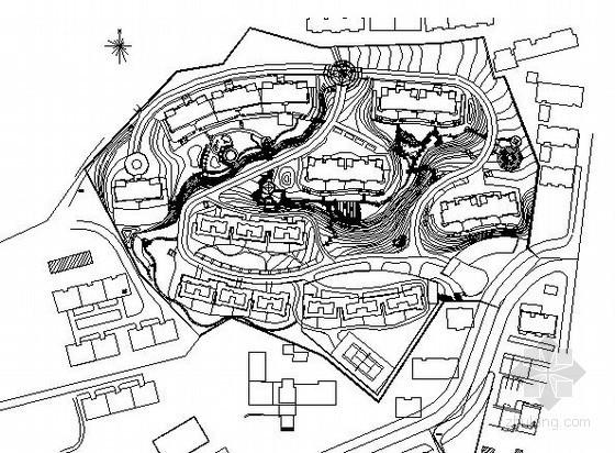 [威海]小区外部环境景观设计施工图