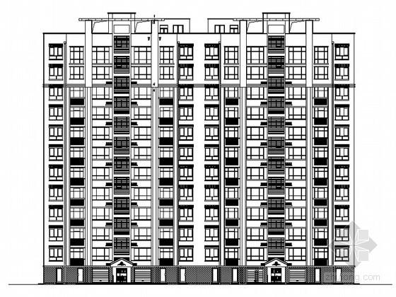 某十一层住宅楼建筑施工图(含热工计算书及节能设计专篇)