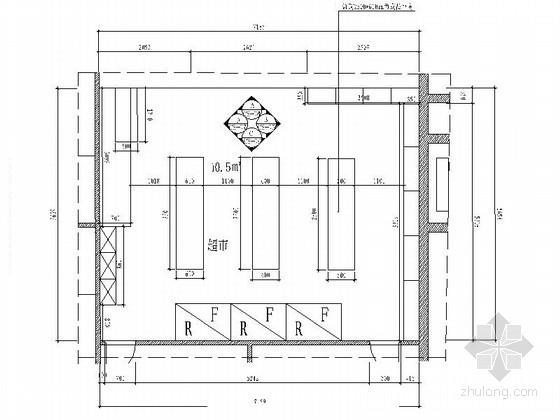 [厦门]现代高档量贩式KTV超市室内装修施工图