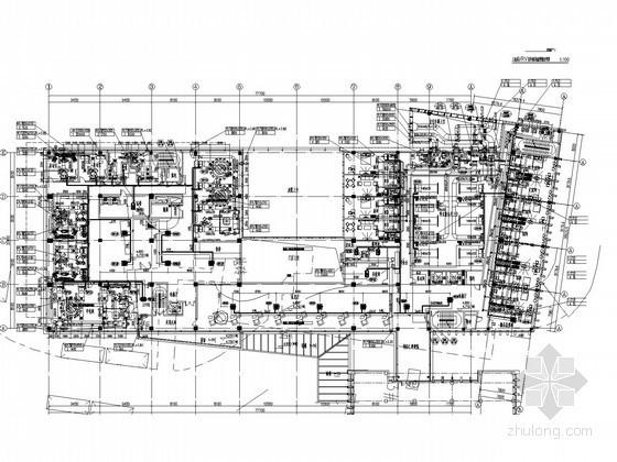 多联分体空调施工资料下载-[安徽]科技服务办公综合楼空调及通风系统设计施工图(多联机系统)
