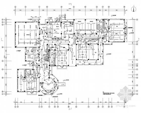 [河北]多层幼儿园强弱电施工图(最新设计规范)
